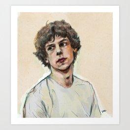 Jesse in Adventureland Art Print
