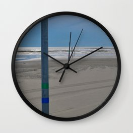 To The Sea Wall Clock