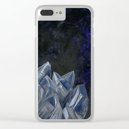 The Earth Warrior Clear iPhone Case