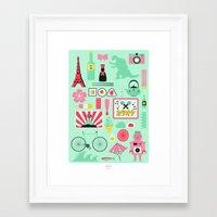 japan Framed Art Prints featuring Japan! by Jenni's Prints