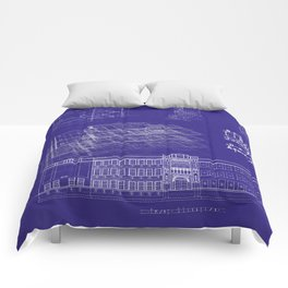 LHS 1921 - Blueprint Style Comforters
