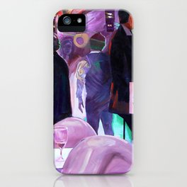 Hand Jive iPhone Case