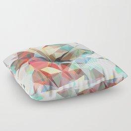 black hole Floor Pillow