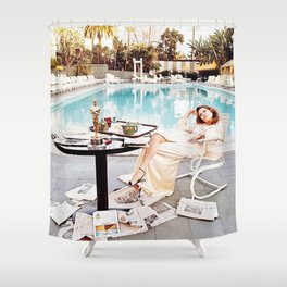 Faye Dunaway Shower Curtain