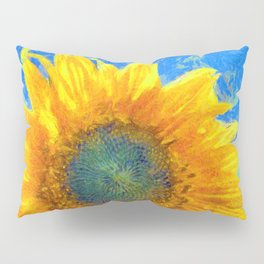 Happy Sunflower Pillow Sham