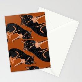 Black dingo (c) 2017 Stationery Cards