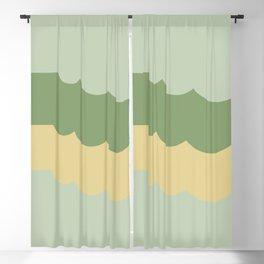Clouds Autumn Pantone Tones Blackout Curtain