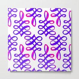 C'EST LA VIV INFINITY KNOT ~ pattern Metal Print