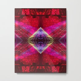 Lunar Psychedelics - Light Diamond Metal Print