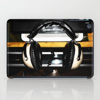 old school iPad Cases featuring Old School by Anand Brai