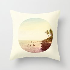 Salt Water Dreams Throw Pillow