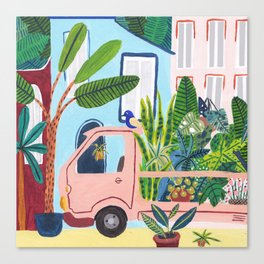 Jungle Delivery Canvas Print