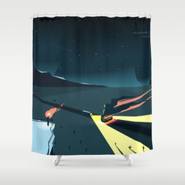Ambush Shower Curtain