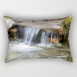 Summer Waterfall Rectangular Pillow