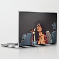 tyler spangler Laptop & iPad Skins featuring Steven Tyler by Matheus Lopes