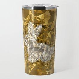 POLYNOID Bunny / Gold Edition Travel Mug