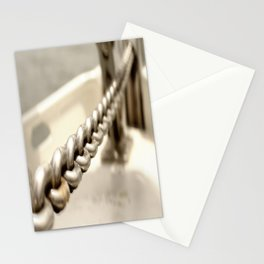 Anchor chain in detail Stationery Cards