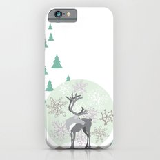 Reindeer Snowglobe Slim Case iPhone 6s