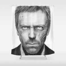 Hugh Laurie from House MD Doctor House Shower Curtain