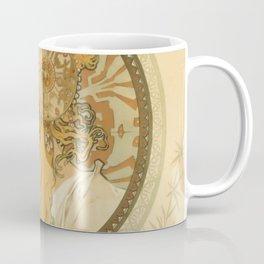 "Alphonse Mucha ""Byzantine Head: The Blonde"" Coffee Mug"