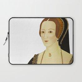 Anne Bolyen - transparent BG Laptop Sleeve