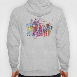 Elephants Splash Hoody