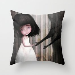 Making New Friends is Easy Throw Pillow