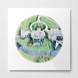 Mega House Metal Print