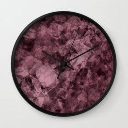 crystal wine Wall Clock
