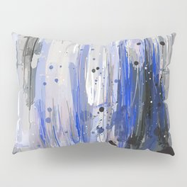 Electric Blue Pillow Sham