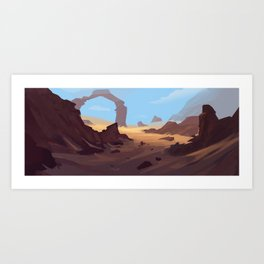 Does this look natural to you?  Art Print