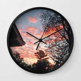 The Sun Also Rises Wall Clock