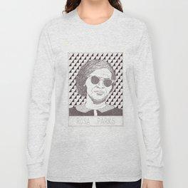 Rosa Parks Portait Long Sleeve T-shirt