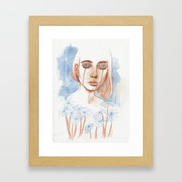 Tuned in Nature Framed Art Print