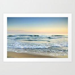 Serenity sea. Vintage Art Print