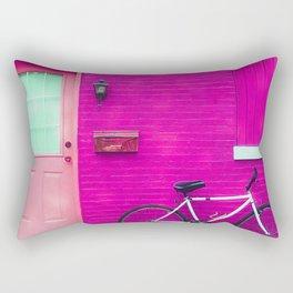 fuchsia house Rectangular Pillow