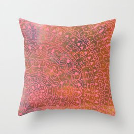 Linear No. 11 Throw Pillow
