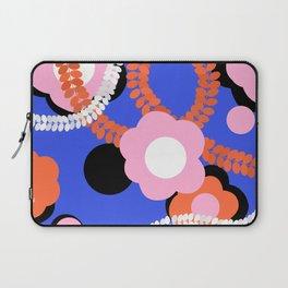 Contrast ethnic flower Laptop Sleeve
