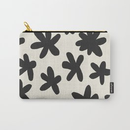 Flower Power Print Carry-All Pouch