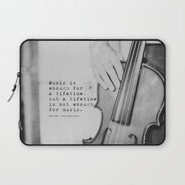 Music Quote Rachmaninov Laptop Sleeve