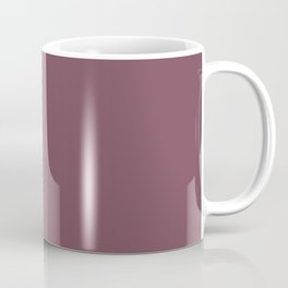 Plain Mulberry Color from SimplyDesignArt's Limited Palette  Coffee Mug