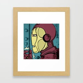Armor Man Framed Art Print