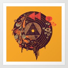 Subliminal Art Print