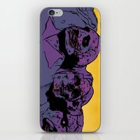 rush iPhone & iPod Skins featuring Rush by dvhstudios