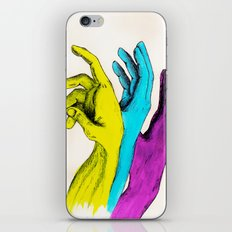Painted Hands iPhone & iPod Skin