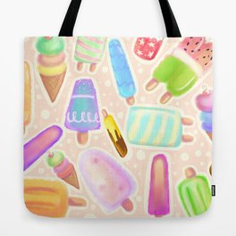 Popsicles and Icy Creamies! Tote Bag