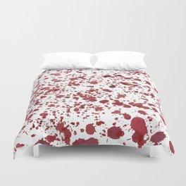Blood Spatter Duvet Cover