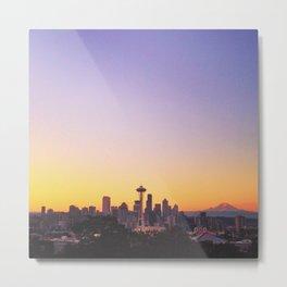 Seattle Sunrise Metal Print