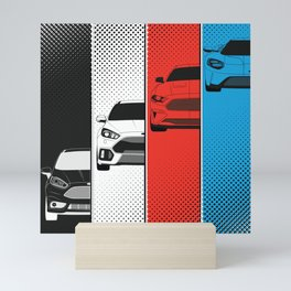 Fast Fords Mini Art Print