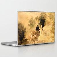 return Laptop & iPad Skins featuring Return Home by Vargamari
